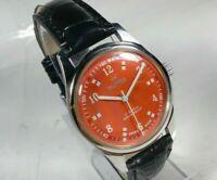Vintage Roamer Mechanical Hand Winding Movement Mens Analog Wrist Watch CA120