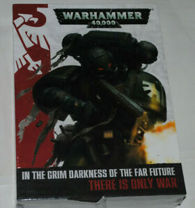 Warhammer 40,000 40K English Rule Book 3 Book Box Set Rules Lore 7th Edition New