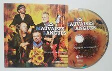 LES MAUVAISES LANGUES : POURQUOI COMMENT ?. ♦ Album 2019 CD Promo ♦