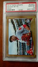 2014 Topps Update Mookie Betts Rookie RC GOLD #/2014 PSA 10 GEM US-301