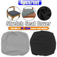 4Pcs Dining Chair Cover Removable Slipcover Washable Banquet Event  Polyester ~