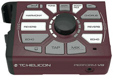 TC-Helicon Perform VG Vocal Effects Pitch Correction Acoustic Guitar Processor