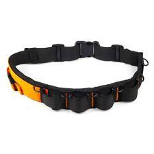 Adjustable Padded Camera Waist Belt Lens Bag Holder Pouch Case Holder Pack Strap