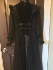 Red Queen's Black Legion Coat Women's Small Gothic Elegant Aristocrat RQ-BL