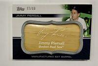 2010 Topps Update Jimmy Piersall Manufactured Bat Barrel #MBB-122 77/99 Red Sox