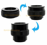 M42/ M39 Enlarger lens to M42 Focusing Helicoid Adapter 25mm - 59mm US Seller