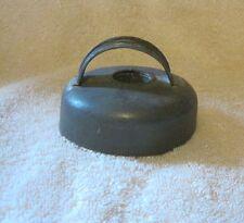 "Tin Metal Round 3"" Biscuit Donut  Cutter ~ Offset Strap Handle"