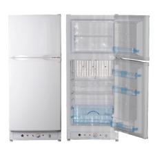Smad 6.5 cu ft 2-way Propane Refrigerator freezer AC Gas RV Kitchen HOme Caravan