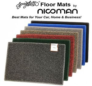 Large Door Mats, Heavy Duty Washable Welcome Mats for Indoor & Outdoor Use