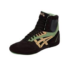 ASICS International Lyte Unisex Black/Caravan Fabric Wrestling Shoes M US 12