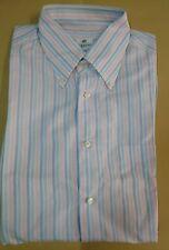 luigi borrelli camicia puro cotone uomo taglia   16,5 42