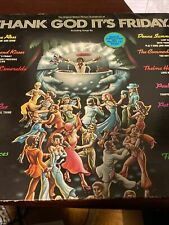 Thank God Its Friday Really Cool Set All Excellent To Mint Con Vinyl Rec 33�