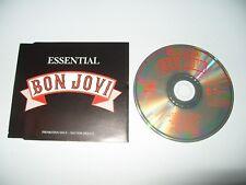 Bon Jovi Essential Bon Jovi 8 Track cd Promo 1989 Slim Line Case Ex + Cond