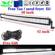 """50"""" 288W LED barra de luz trabajo Spot Flood Combo FOCO 12V 24V Light Bar camión"""