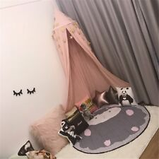 UK Mosquito Net Bed Canopy Netting Curtain Dome Fly Midges Insect Stopping Pink