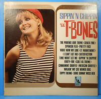 THE T-BONES SIPPIN' 'N CHIPPIN' 1966 THE WRECKING CREW GREAT CONDITION VG+/VG+!!