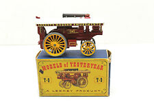 Nmib Vintage Matchbox Lesney Moka Y-9 Fowler Big Lion Showman's Engine+Orig Box
