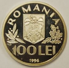 More details for romania-1996-100 lei silver proof-world food summit in rome