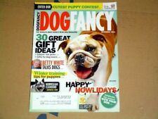 Dog Fancy Dec 2011 Bulldog Norwegian Elkhound Japanese Chin