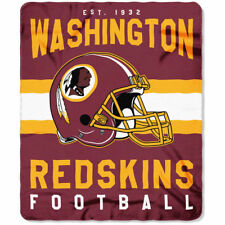 Washington Redskins Licensed Fleece Throw Blanket Football Team 50'' X 60''