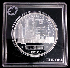ITALIE - 10 EURO EN ARGENT 2010 - ITALIE DES ARTS - RARE!!!!