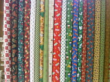 CHRISTMAS JELLY ROLL FABRIC FRANK'S BARGAIN CENTER $16.80