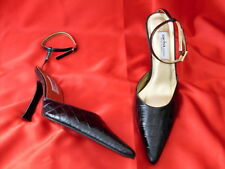 Ladies Sacha Black High Heel Shoes size 7