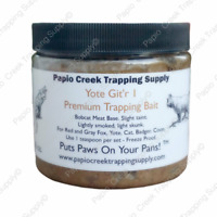 Papio Creek Yote Git'r 1 Fur Trapping Bait 16 Ounces Bobcat Meat Base Coyote