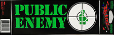 Public Enemy 1992 Bumper Sticker