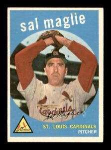 1959 Topps Set Break # 309 Sal Maglie EX *OBGcards*