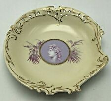 Reticulated Cameo Cabinet Plate Apollo Marked Rosenthal Savoy