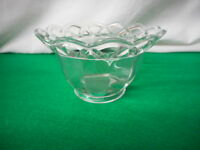 Crocheted Crystal Imperial Glass 1935-1950 Bowl Vintage