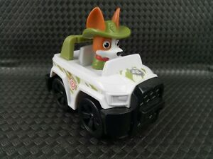 Paw Patrol Tracker Dog Jungle Rescue Racer Vehicle Genuine Spin Master Toys