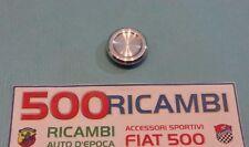 FIAT 500 F/L/R 126 TAPPO COPRI FORO COMMUTATORE CHIAVE CRUSCOTTO ALLUMINIO