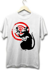Banksy Surveillance Rat Street Art Graffiti New Mens Hipster T-Shirt