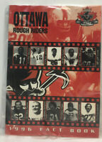 Vintage 1996 Ottawa Rough Riders Media Guide / Fact Book