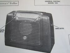 GENERAL ELECTRIC 150 RADIO PHOTOFACT
