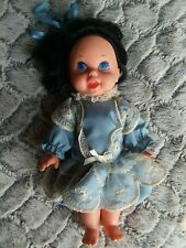 """Vintage 1967 Talking SNOW WHITE Storybook Small Talk 10"""" Doll Mattel NOT WORKING"""