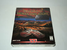 WARWIND II HUMAN ONSLAUGHT war wind 2 new factory sealed PC big box