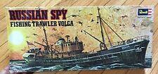 RUSSIAN SPY FISHING TRAWLER VOLGA SHIP REVELL MODEL KIT USA