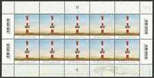 Leuchtturm Wangerooge - Zehnerbogen (10 x 70 Cent) - postfrisch - Mi.Nr. 3392