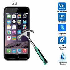 Twin Pack iPhone SE claro como el Cristal Vidrio Templado Protectores De Pantalla