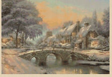 Cross Stitch Chart - Christmas winter Scene No 149 FREE UK P&P.TSG37--...