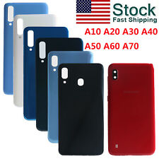 OEM Back Battery Glass Cover Replacement For Samsung Galaxy A10 A20 A30 A50 A70