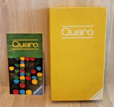 Rare Jeu de société Quaro - Ravensburger stratégie coffret tissu jaune - complet