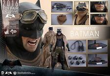 2016 TOY FAIRS HOT TOYS 1/6 DC BATMAN V SUPERMAN MMS372 KNIGHTMARE BATMAN FIGURE