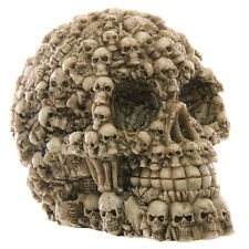 Multiple Skulls Head Decoration 12cm Skull of Bones Samhain Gothic Halloween