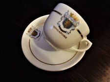 Vintage Raffles Hotel Singapore Cup and Saucer Wedgwood Made in England