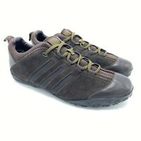 Adidas Streethiker Hiking Trail Suede Shoes Brown 018527, Men's Size 12