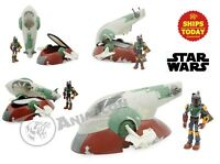 Disney Store Toybox SLAVE SHIP & BOBA FETT Action Figure Playset Star Wars 2020